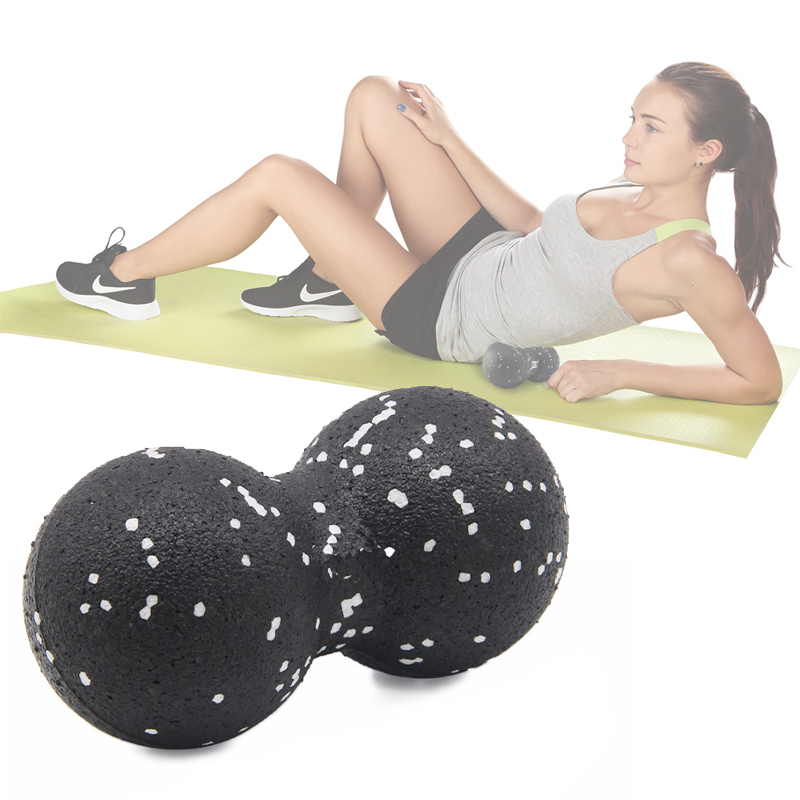 EPP Lacrosse Myofascial Exercise Ball and Peanut Massage Ball for Pain Relieve