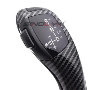 Image 4 - LED gałka zmiany biegów dźwignia zmiany biegów dla BMW 1 3 5 6 seria E90 E60 E46 2D 4D E39 E53 E92 E87 E93 E83 X3 E89 automatyczne akcesoria samochodowe