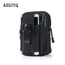 Multifunction casual waterproof canvas belt bag men fanny pack money purse military waist bags hip bum Tactical Bag