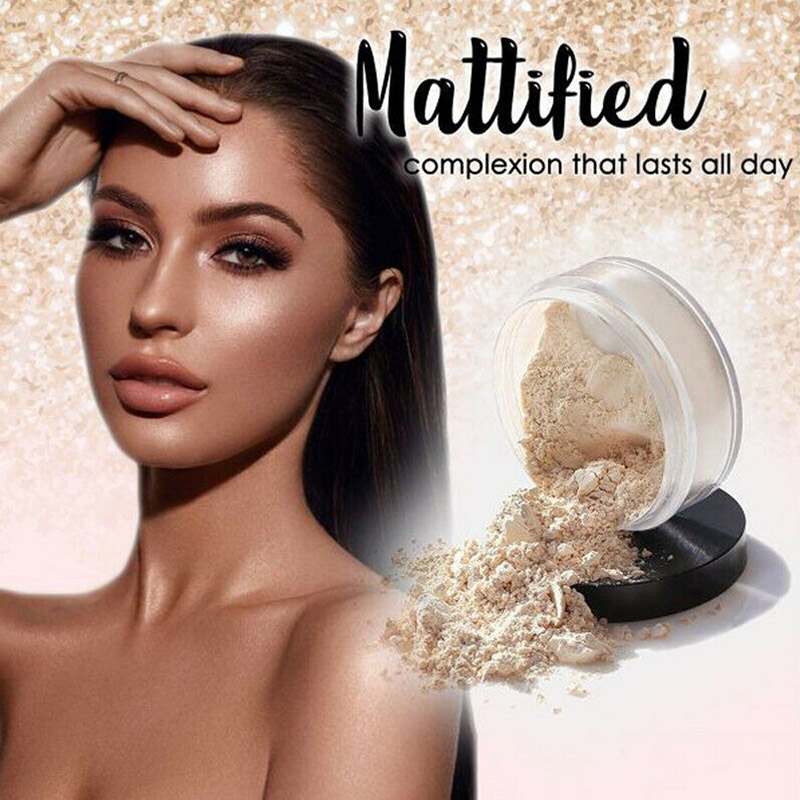 Hot Sale Mattifying Setting Powder Makeup Pressed Oil Control Long Lasting for Women