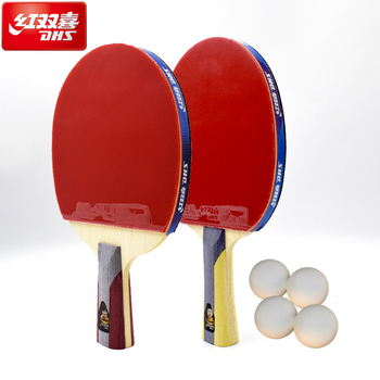 Original DHS 5002/5006 Table Tennis Rackets with 5 Stars Racquet Sports Rackets Finished Rackets Ping Pong Paddles Racquet original joola table tennis case bag gourd shape 818 high quality hard shell table tennis rackets racquet sports pingpong case