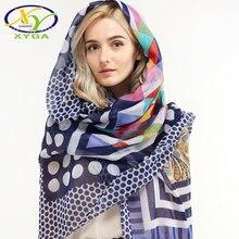 Хлопковые женские длинные шарфы, весна 2020, новые женские шали из вискозы, тонкие летние модные пляжные накидки, мусульманский хиджаб, осенние шарфы