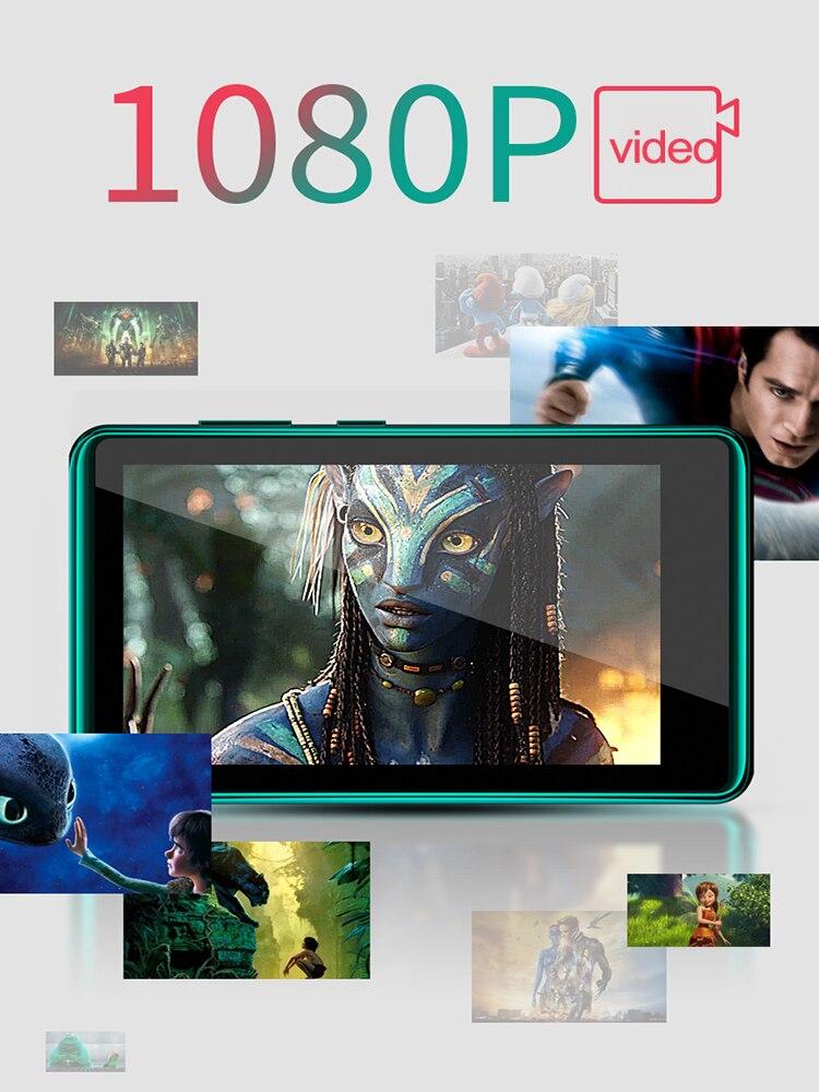 4.0 Inch Bluetooth MP4 Speler Touch Full Screen Ingebouwde Luidspreker Muziekspeler Met Fm E-book Game Video Opnemen media Player 5