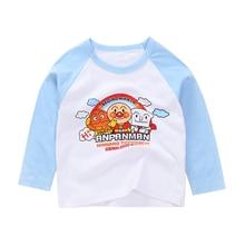 Kids Baby Boys Girls Cartoon T Shirts Long Sleeve