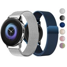 20mm 22mm Watch Band for Samsung Galaxy Watch 46mm 42mm Active 2 Gear S3 Frontier Strap Huawei Watch GT 2 Strap for Amazfit bip 20mm smart watch bands compatible for amazfit gtr 42mm smartwatch samsung galaxy watch active active 2 huawei watch 2 watch