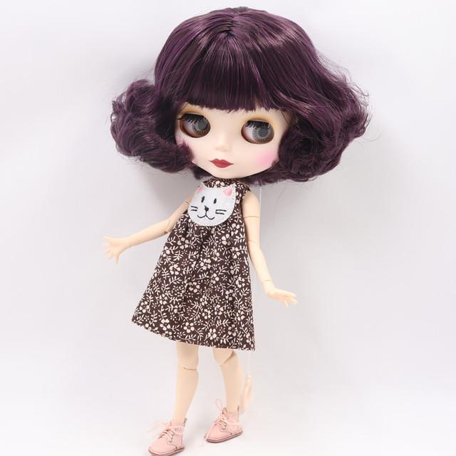 Gabriela - Premium Custom Blythe Doll mit vollem Outfit Süßes Gesicht