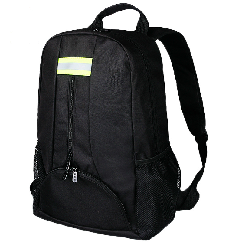 Oxford Tool Fabric Backpack Multi-function Outdoor Backpack Electricians Tool Bag Black Durable