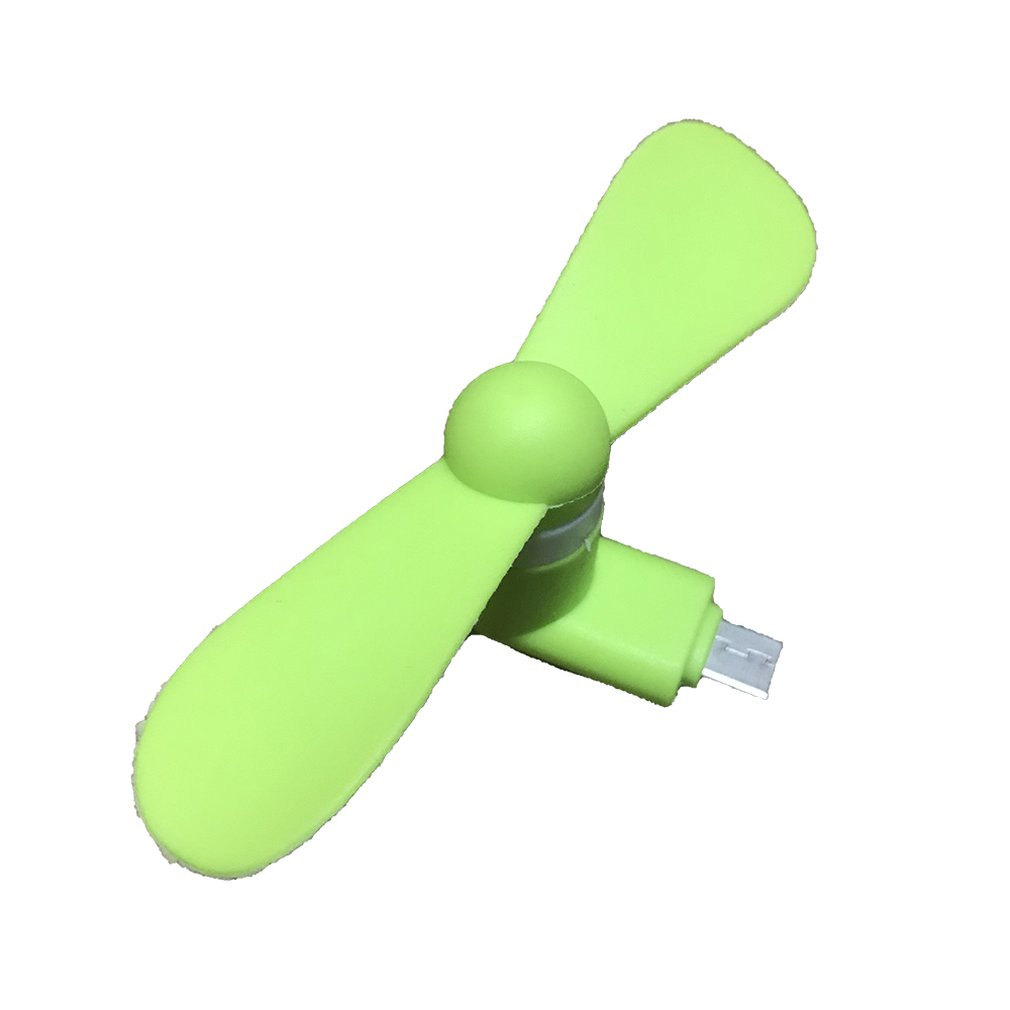 For Android Portable Cool Micro USB Fan Mobile Phone USB Fans Low Voice For Android Mobile Phone USB Power Supply