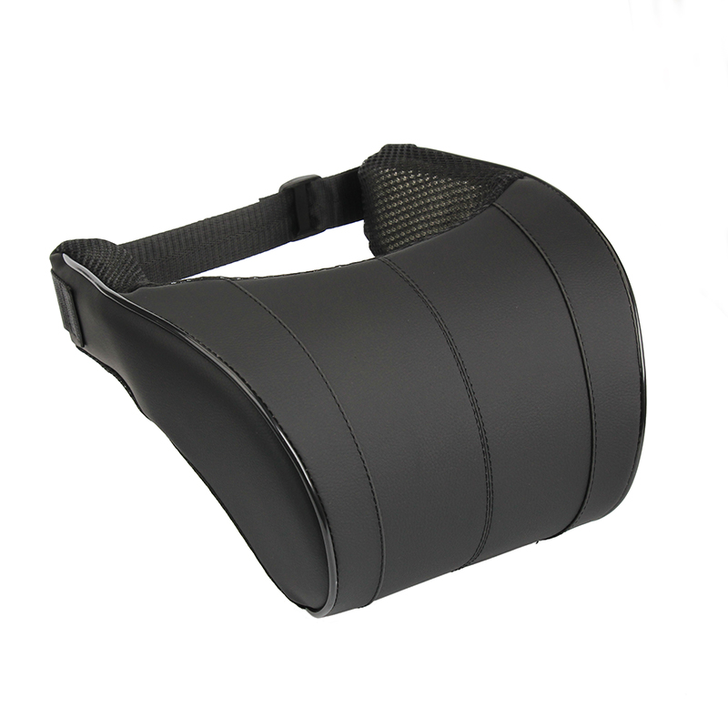 1Pcs 3 Colors High Quality PU Leather Auto Car Neck Pillow Memory Foam Pillows Neck Rest Seat Headrest Cushion Pad