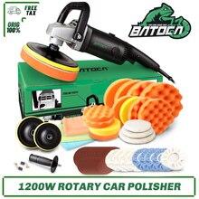 BATOCA 1200W Rotary Car Polisher 7Inch RO Electric Car Polishing Machine Buffing Tools Buffer Waxer Adjustable Speed Sander