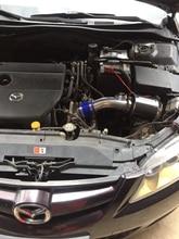차가운 공기 흡입 파이프가있는 공기 필터 자동차 키트 Mazda 3 Mazda 6 Unkexella Wing God 고 유량 교체 알루미늄 파이프 MC20S04