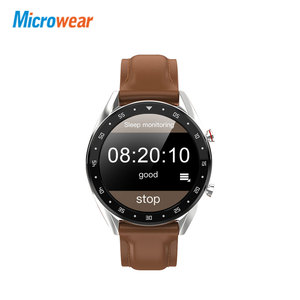 Image 2 - Microfones relógio inteligente l7 pressão arterial/bluetooth/gps/monitor de sono relógio inteligente fitness men women