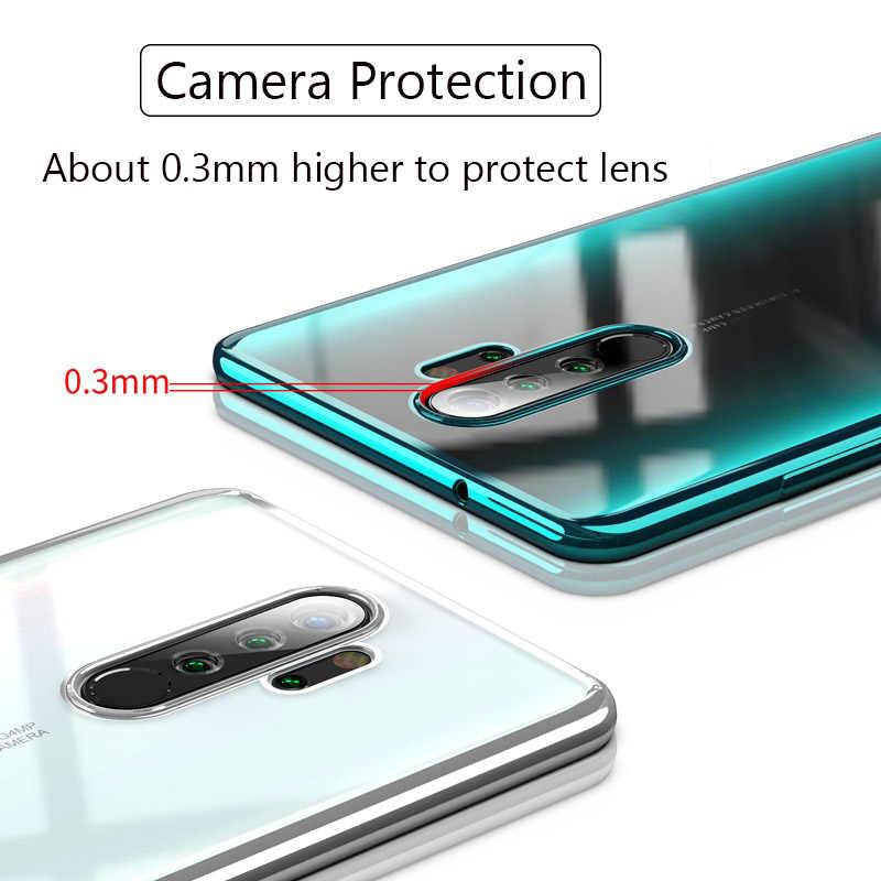 Xiaomi Redmi için not 8 Pro lazer kaplama TPU yumuşak temizle kapak Xiaomi Xiaomi Redmi için not 8 Note8 pro Mi Note8pro not 8T