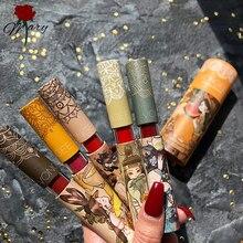 Liquid Lipstick Makeup Lip Gloss Mirror-Surface Moisturizing Lip-Tint Long-Lasting 5-Colors