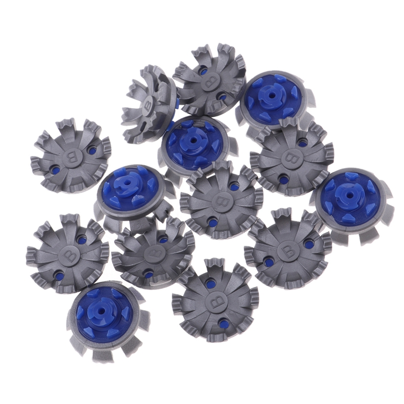 14 Pcs/Set Golf Cleats Shoes Spikes Stinger Rubber Screw Studs Golf Spikes Replacement Fast Twist Golf Shoes Replace Spikes