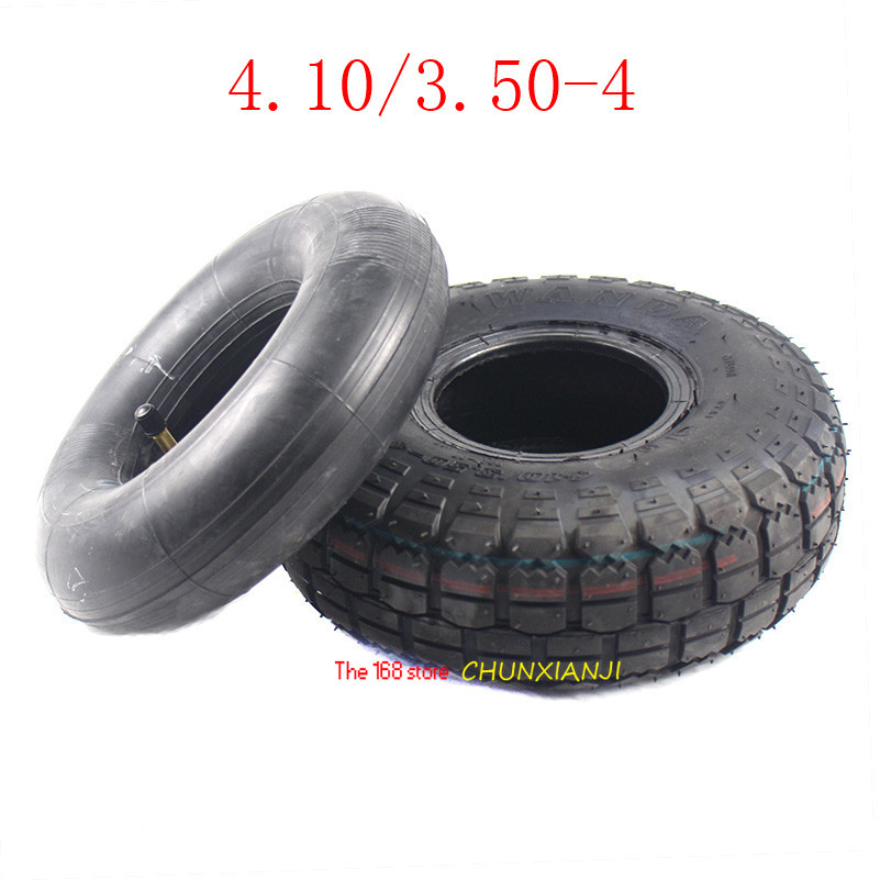 High Quality 4.10/3.50-4 Zhengxin Tyre 410/ 350-4  Electric Scooter Tyre Inner Tube