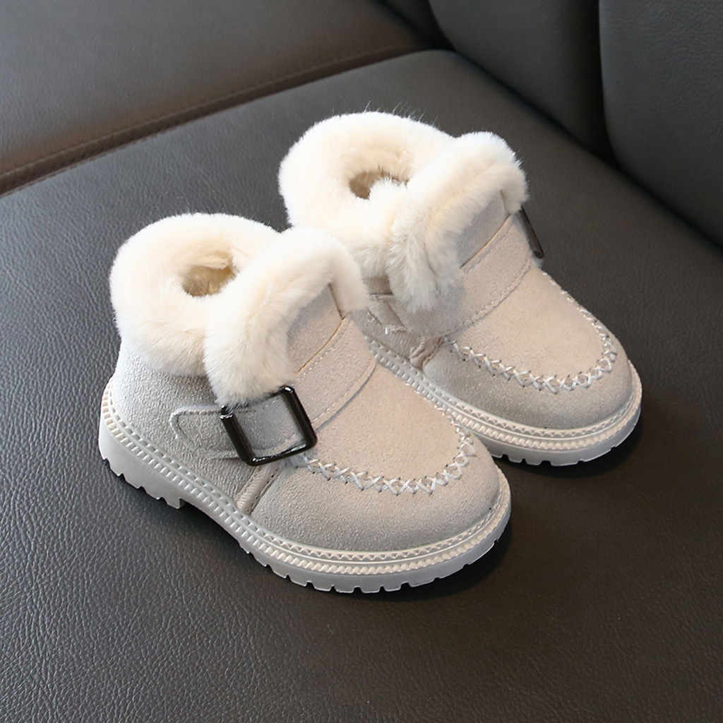 2019 Toddler Slippers Kids Winter sofa Boys Girls Fashion Shoes Warm Winter Girls Boots Ankle Sport Short Bootie Casual Shoes