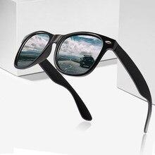 Vintage polarizado óculos de sol das mulheres dos homens marca designer motorista máscaras masculino óculos de sol das mulheres spuare espelho de verão uv400 oculos