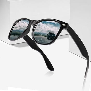 Vintage Polarized Sunglasses Men Women Brand Designer Driver Shades Male Sun Glasses Women Men Spuare Mirror Summer UV400 Oculos цена 2017