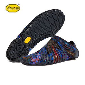 Image 5 - Vibram FUROSHIKI Walkingกีฬายืดผ้ารองเท้าผู้หญิงSuper Lightห้านิ้วมือวิ่งพับแบบพกพารองเท้าผ้าใบ