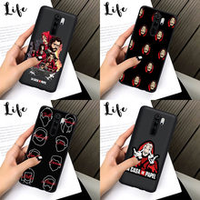 Spanje Tv La Casa De Papel Soft Tpu Back Cover Telefoon Case Voor Xiaomi Redmi Note 5 6 Pro 7 8 8 Pro Mi 9T Pro K20 Pro Coque Shell(China)