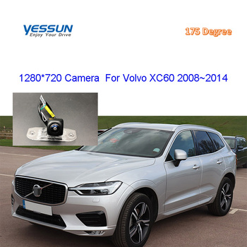 car camera For Volvo XC60 XC 60 2008~2010 20111 2012 2013 2014 Rear View Camera parking system / HD Back Up Reverse Camera image