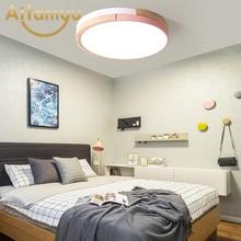 2019 Modern Led Ceiling Lights For Living Room Bedroom lamparas de techo colgante moderna avize Wooden Lamp Fixtures