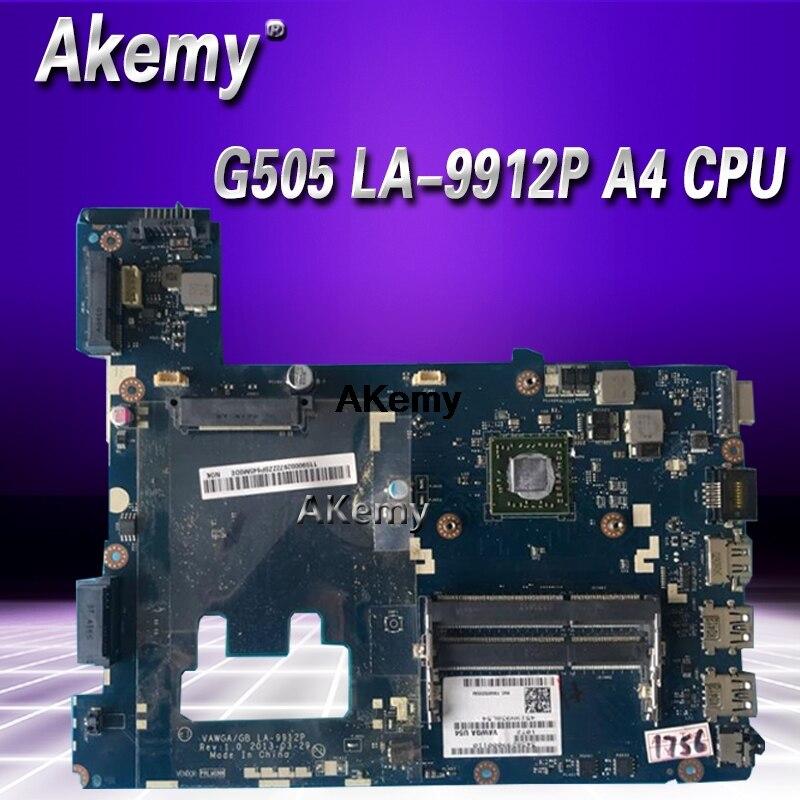 LA-9912P G505 Motherboard For Lenovo G505 LA-9912P  Laptop Motherboard ( For AMD A4 CPU )  Motherboard Test OK