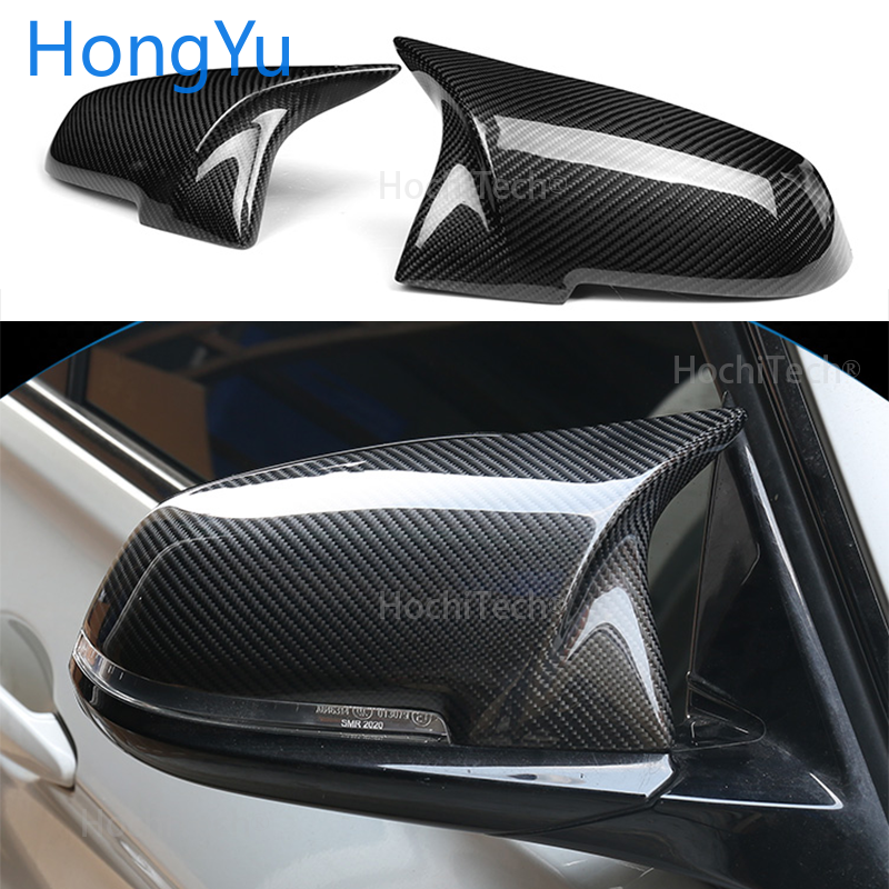 For BMW 1 Series F20 F21 116i 118i 120i 125i 130i 2012-2018 Replacement Carbon Fiber M3 M4 Look Rear View Mirror Cover Caps