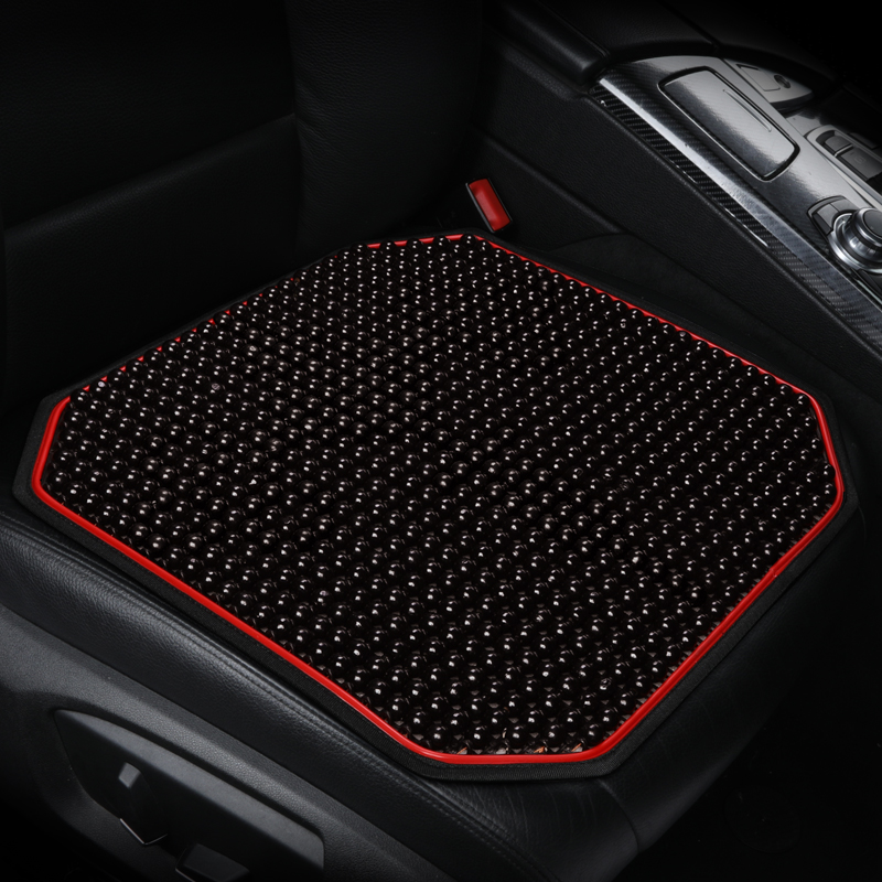Chinese knot car seat cover <font><b>wood</b></font> beads car seat cushion message for Volkswagen <font><b>PASSAT</b></font> b5, b6, <font><b>b7</b></font>,b8 TIGUAN Polo SANTANA Gran image