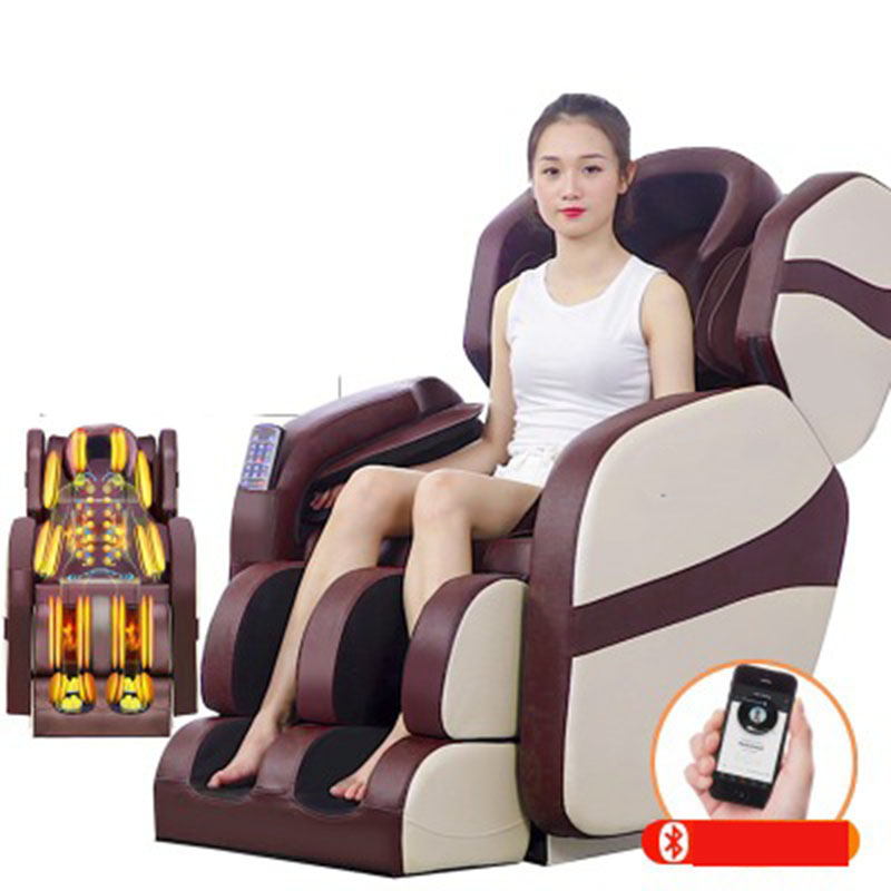 Fully Automatic Head Shoulder Full Body Massage Chair Electric Space Zero Gravity Airbag Beat Kneading Heating Massage Sofa