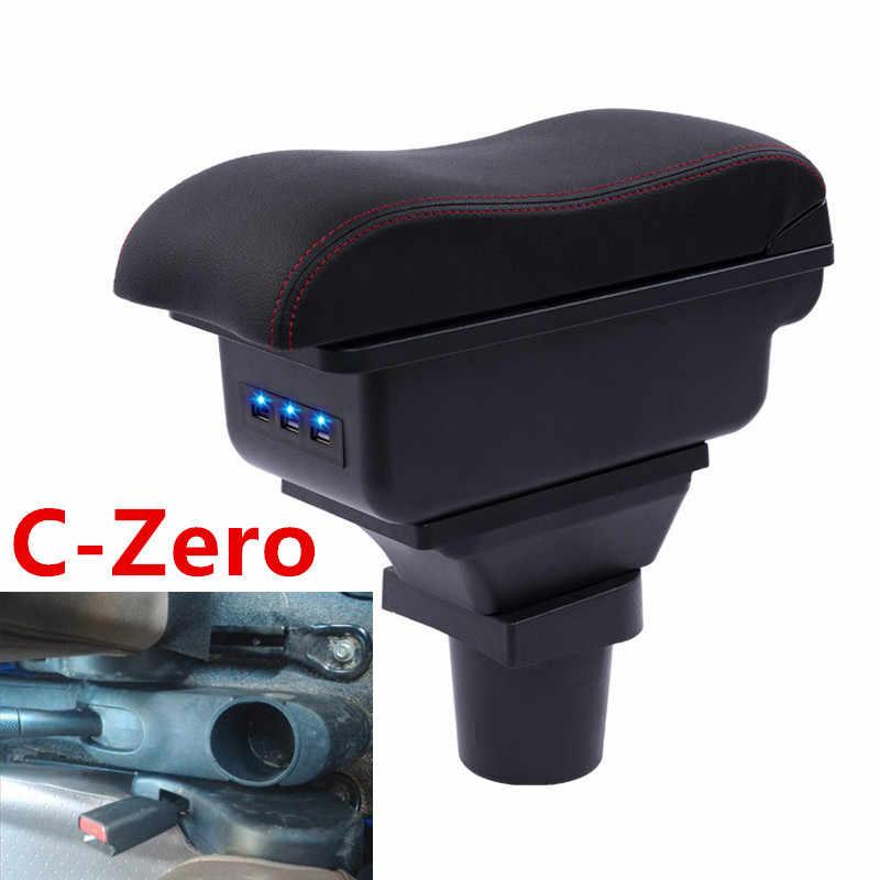 Pour boîte d'accoudoir c-zero boîte d'accoudoir de contenu de magasin central avec interface USB