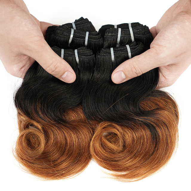 100% Brazilian Human Hair Extension 15