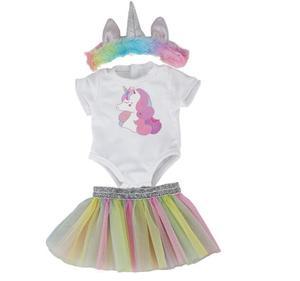 Image 3 - Di modo di nuovo vestito Per 17 Pollici Del Bambino Reborn Bambola 43 centimetri Vestiti