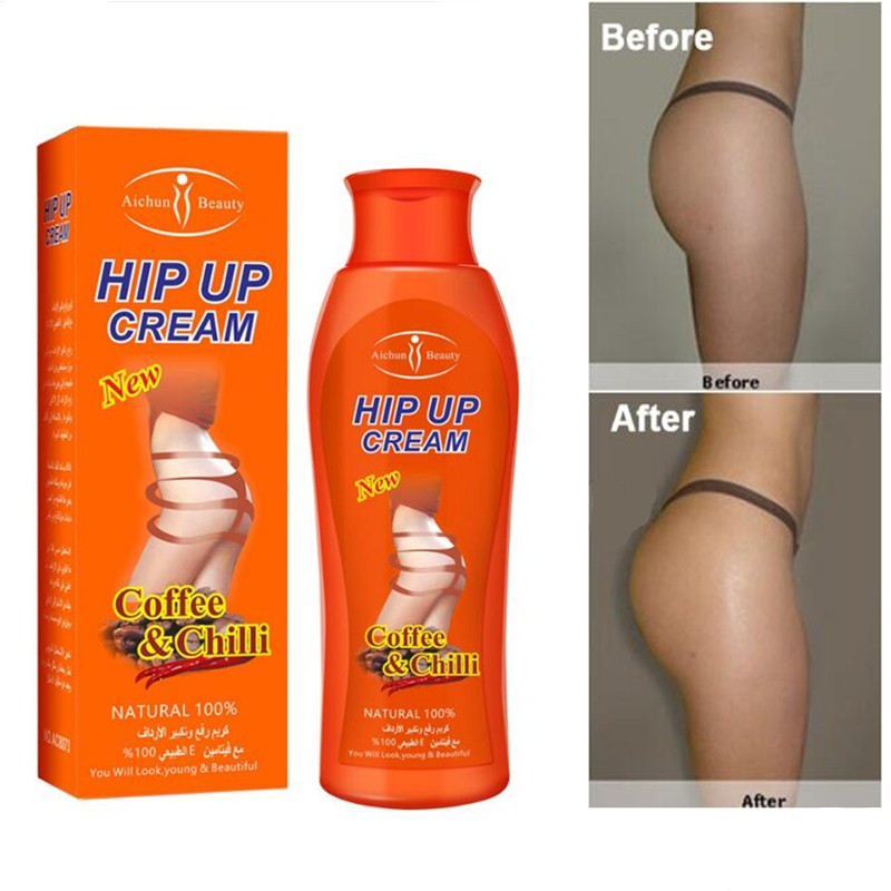 200ML Best 3 Days Coffee Ginger Chili Hip Lift Up Lifting Bigger Buttock Cream Big Ass Enlargement Butt Lift Enhancer Body Cream