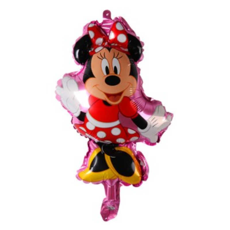 1Pc Folie Ballon Happy Birthday Mini Mickey Hoofd Medium Mickey Hoofd Ballon Kinderspeelgoed