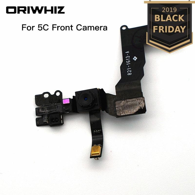 ORIWHIZ Front Facing Camera with flex cable Replacement Top Quality For iPhone 5 5C 5S 6 6plus 6S 6S plus Sensor Proximity Light image