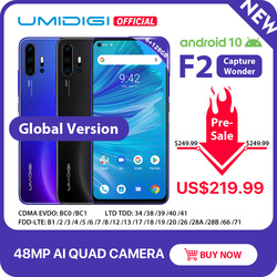 Pre-sale UMIDIGI F2 Android 10 Global Version 6.53