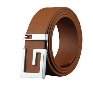 Belts Waistband Buckle Men Strap Wholesale Luxury Metal for Male Smooth-Girdle -A