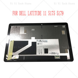 Para DELL LATITUDE 11 5175 reemplazo 2 en 1 LED TOUCH DIGITIZER 5179 LCD Asamblea