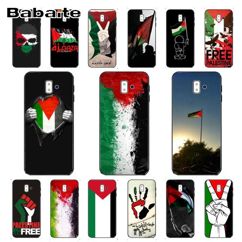 cover for galaxy j6 2018 free palestine <font><b>flag</b></font> TPU Soft silicone Phone Cover For <font><b>samsung</b></font> Galaxy j6 plus A6 A8 A9 <font><b>A10</b></font> A30 A50 Cover image