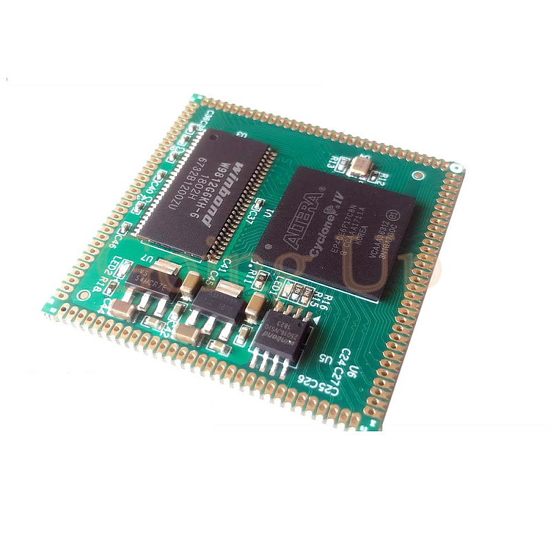 AC608 FPGA Core Board Stamp Hole EP4CE22 EP4CE15 EP4CE10 Compatible
