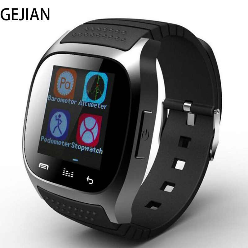 GEJIAN Men Smart Watch Multifunction Sports With Dial SMS Remind Pedometer For IOS Android Women fashion Bluetooth SmartWatch