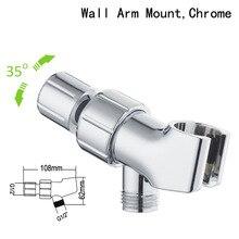 3 Way Shower Head Diverter Valve Fix Bracket ABS Bathroom Shower Head Diverter Sprayer Arm Mount Valve for Bathroom Accessories стоимость