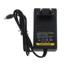 12.6V DC 1A chargeur de batterie Intelligent Lithium li on adaptateur dalimentation ue US Plug transformateur