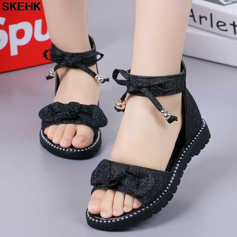 สาวรองเท้าแตะฤดูร้อน 2020 สไตล์ใหม่แฟชั่นสไตล์เกาหลีเจ้าหญิงรองเท้าCUHKเด็กSoft-Soleเด็กGladiatorรองเท้าแตะ
