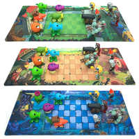 Plants Vs Zombies Game Plan Map Waterproof Film Plastic Mat Color Printed Decorative Operational Layout Stance Kid Toy