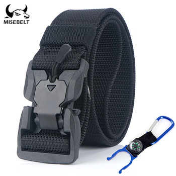 New military equipment tactical belt US Army magnetic buckle military belt high quality polyamide sports belt sports accessories