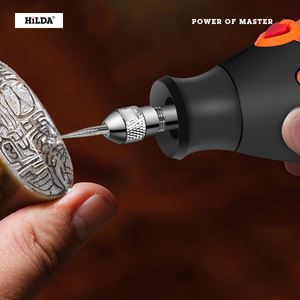 Image 4 - הילדה חשמלי מיני תרגיל משתנה מהירות רוטרי כלי עבור Dremel מיני חשמלי מטחנות Dremel אביזרי תרגיל מכונה