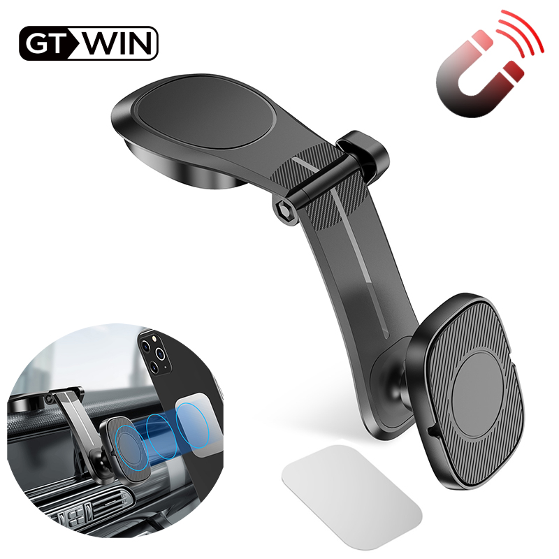 GTWIN Magnetic Car Phone Holder Air Vent Mount Stand For IPhone 11 XS Max Samsung Xiaomi Stander Magnet GPS Car Mount Dashboard